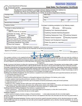 illinois sales tax exemption form crt-61